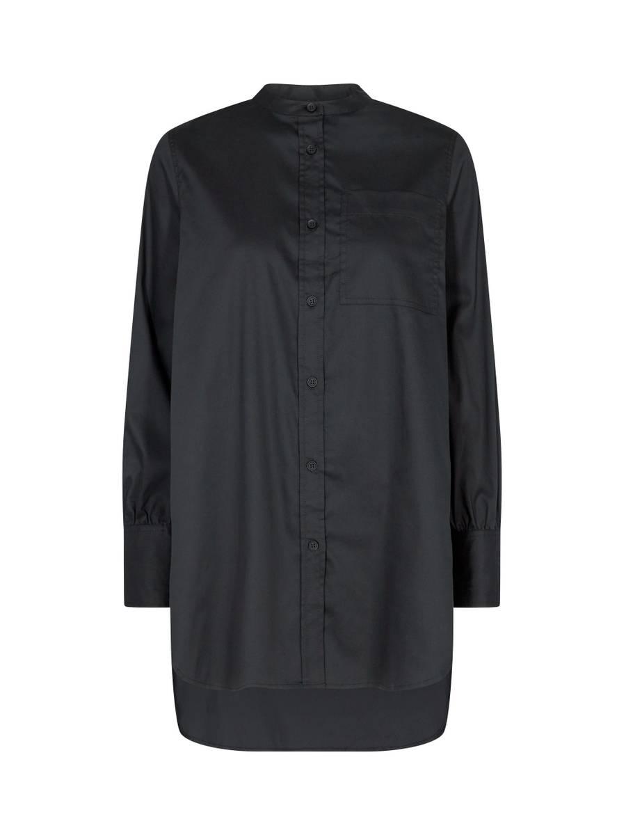 Levete Room Isla Solid 23 Skjorte Sort