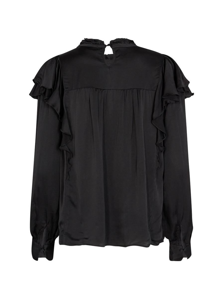Levete Room Perla 5 Bluse Sort