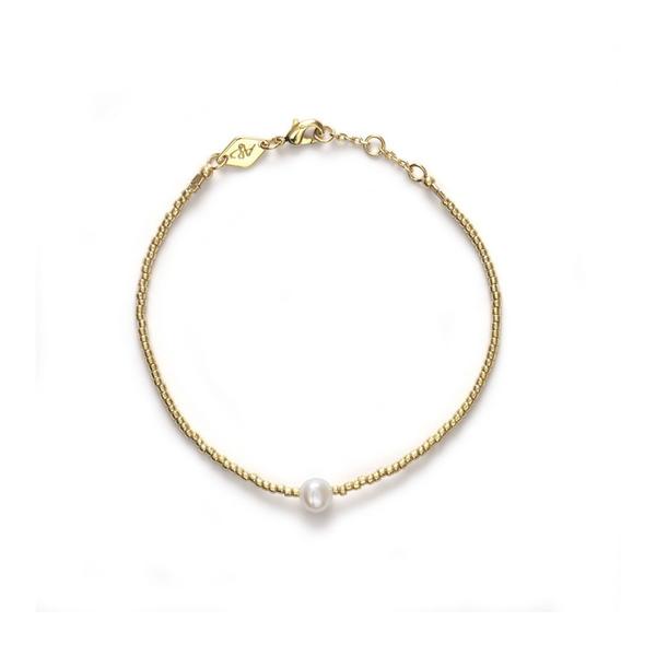 Bilde av Anni Lu Pearly Bracelet Gold