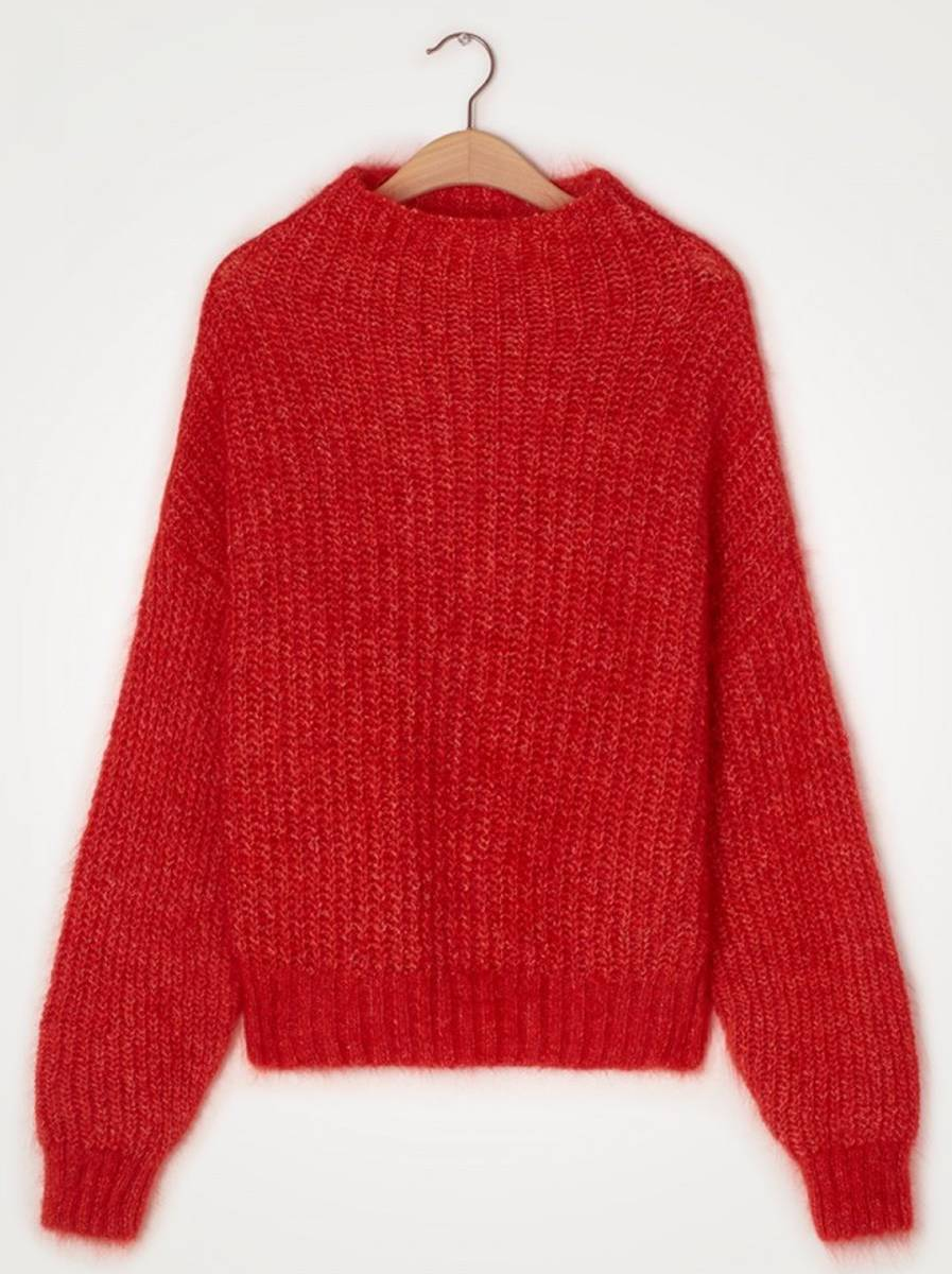 American Vintage Dol18B Genser Rød