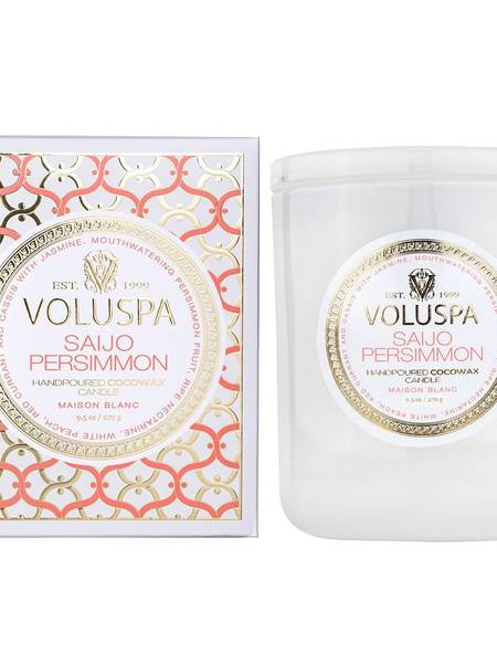 Bilde av Voluspa Boxed Candle Saijo