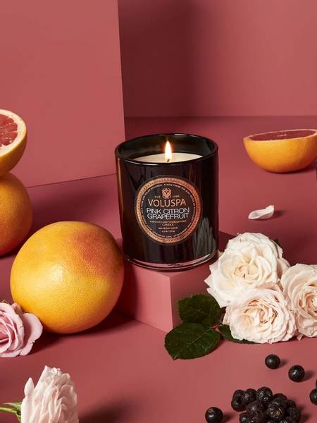 Bilde av Voluspa Boxed Candle Pink