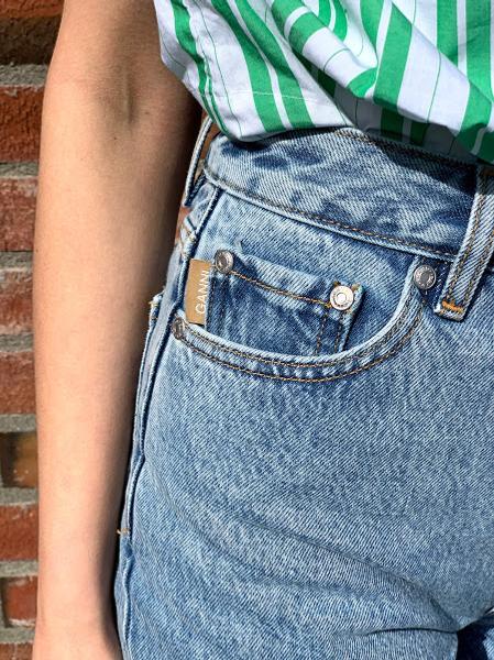 Bilde av Ganni F5718 Jeans Washed